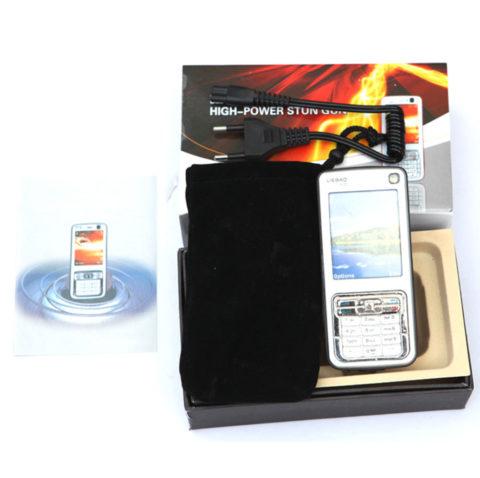 Hotline Fake Cell Phone LED Stun Gun 3.6M (K95 Type)