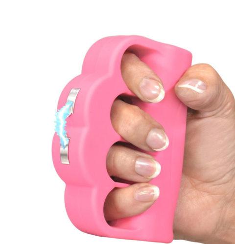 Blast Knuckles Stun Gun Pink 950K